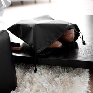 Sada 2 tašiek na obuv Black Bags