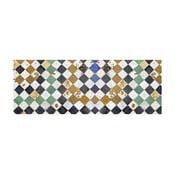 Vinylový koberec Square Tiles, 50x140 cm
