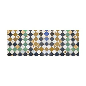 Vinylový koberec Square Tiles, 50x100 cm