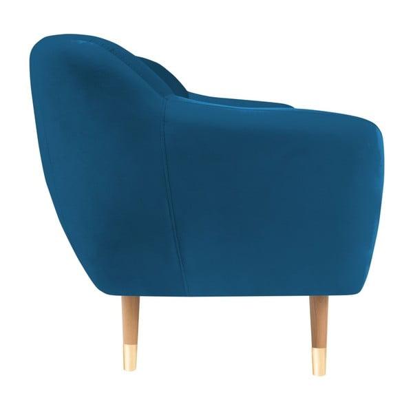 Modrá dvojmiestna pohovka Mazzini Sofas Amelie