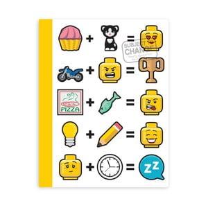 Zošiť v tvrdých doskách LEGO® Iconic