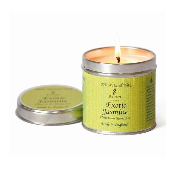Sviečka Scenterd Candles, Exotic Jasmine, 50 hodin horenia