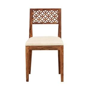 Stolička z masívneho palisandrového dreva Massive Home Rosie