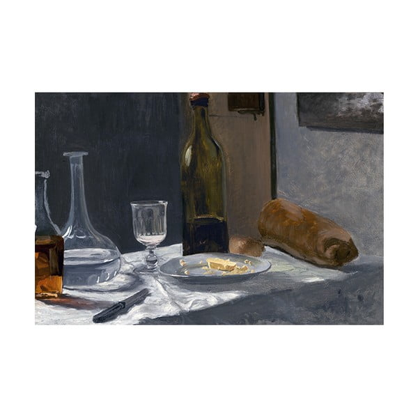 Obraz Claude Monet - Still Life with Bottle, 45x30 cm