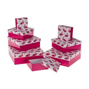 Sada 8 kartónových krabičiek Out of the Blue