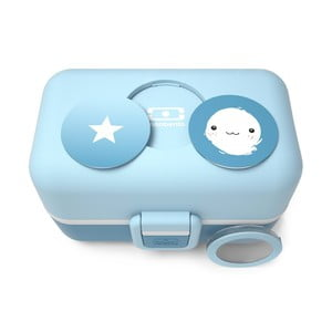 Modrý obedový box Monbento Tresor