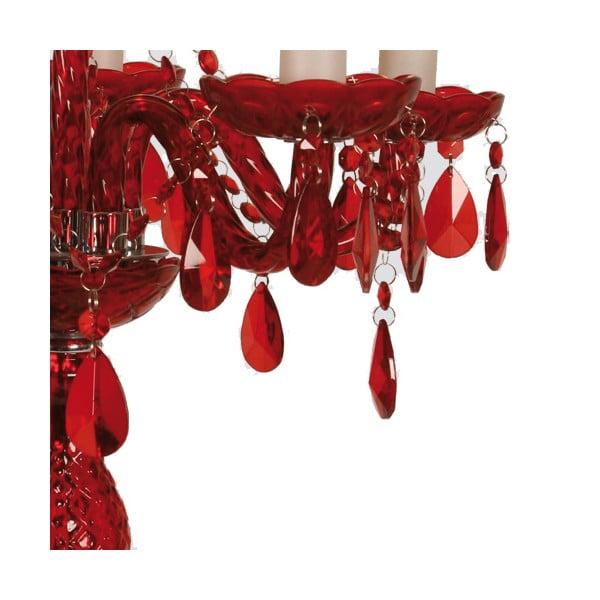 Stolová lampa Red Crystal