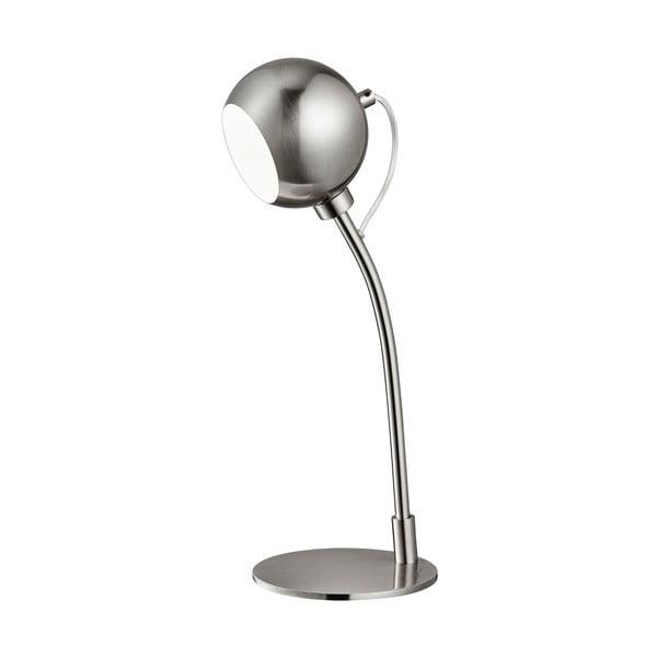 Stolová lampa Magnetic Head, strieborná