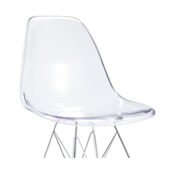 Priehľadná stolička Santiago Pons Parz