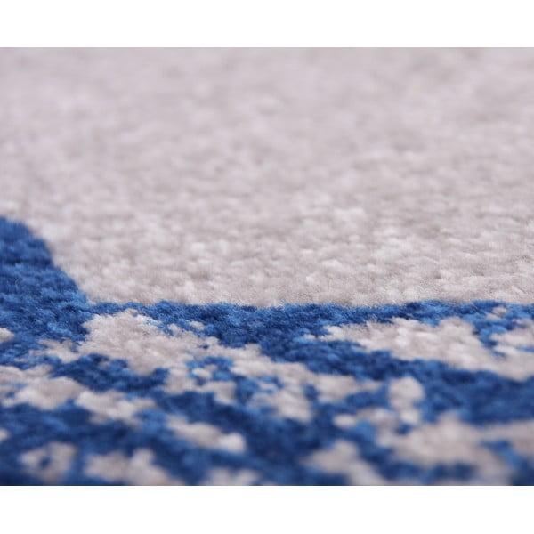 Detský modrý koberec Nattiot Lucero,80x150cm