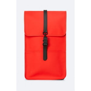 Červený batoh s vysokou vodoodolnosťou Rains Backpack