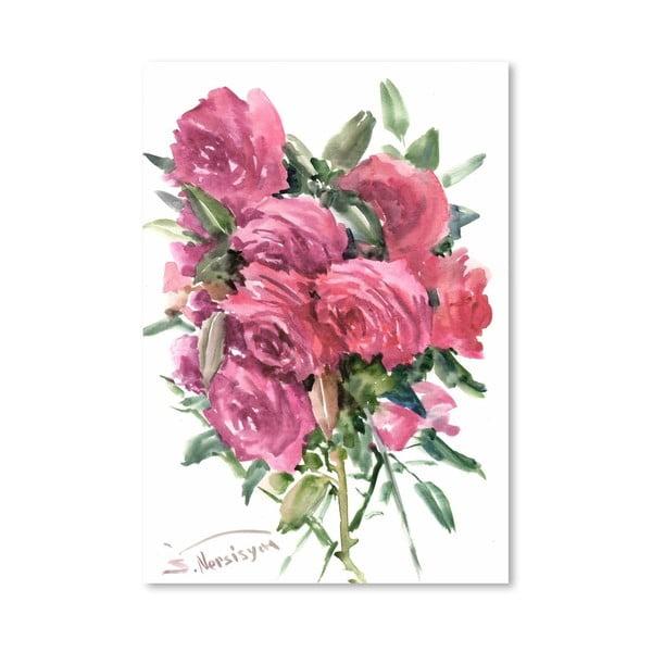 Plagát English Roses od Suren Nersisyan