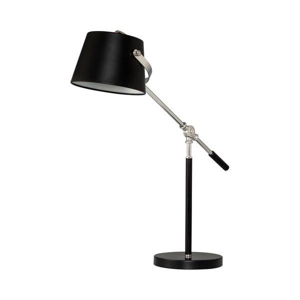 Stolná lampa Xavier, čierna