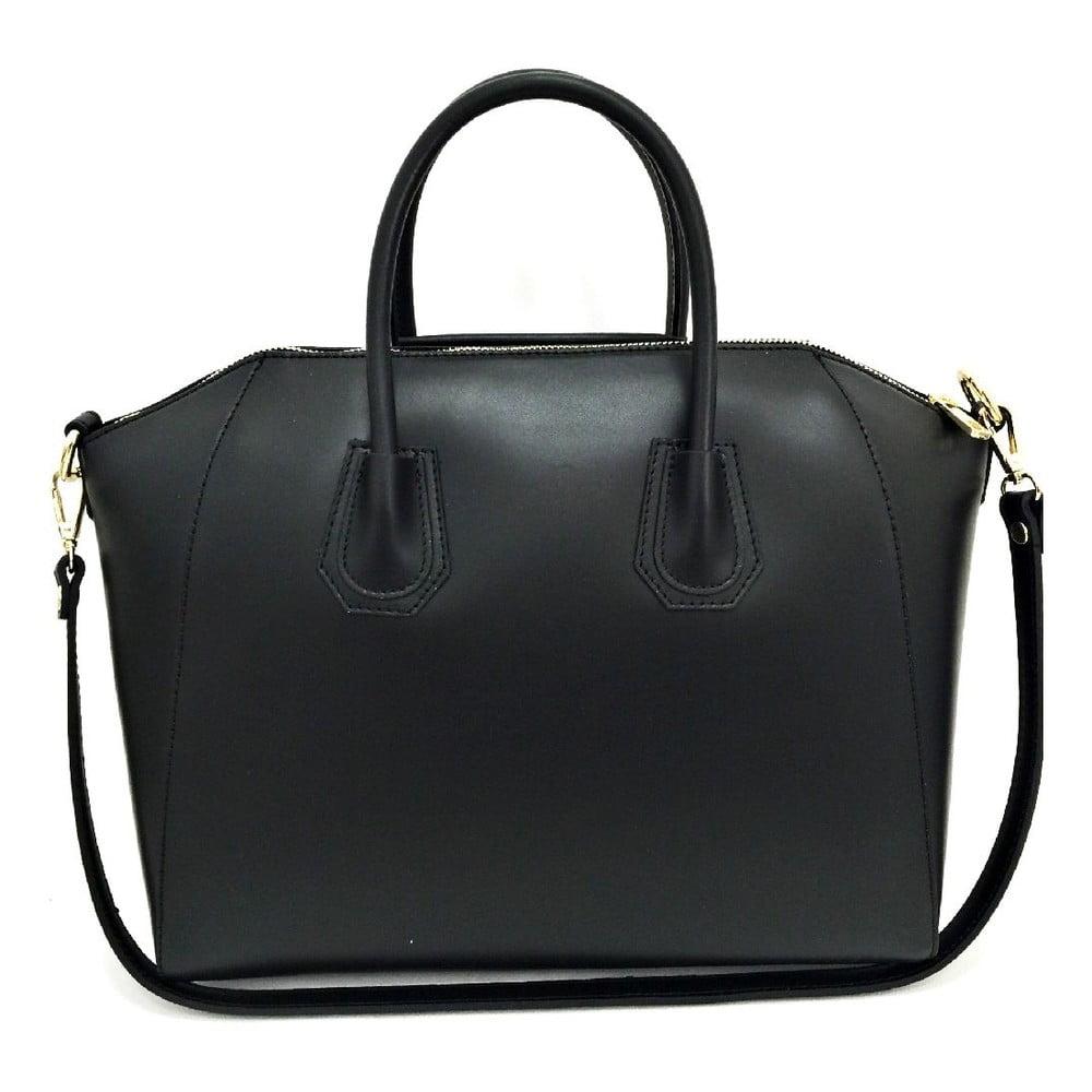 d45aa1e703 Kožená kabelka Tosca Black ...