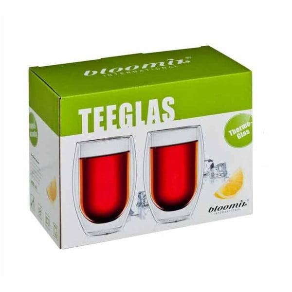 Sada 2 pohárov na čaj bloomix Tetouan