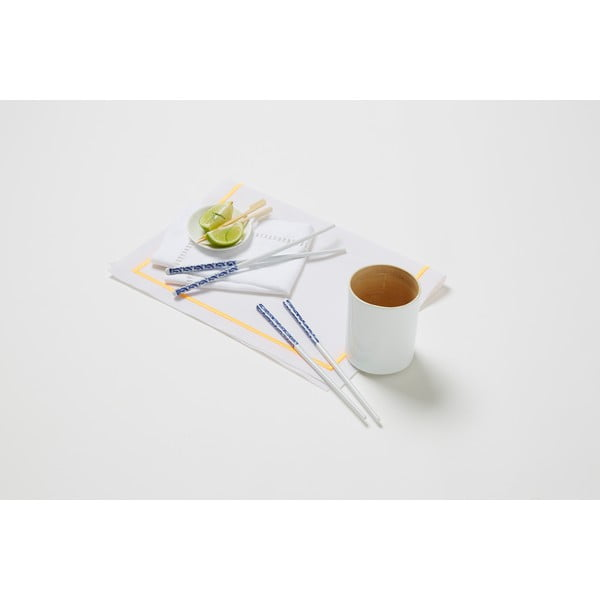 Bambusová dóza na kuchynské nástroje Bamboo White, 10 cm