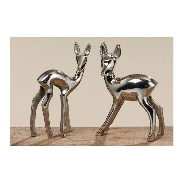 Sada 2 dekoratívnych sošiek Boltze Bambi