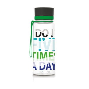 Plastová fľaša Equa Five Times, 0,6 l