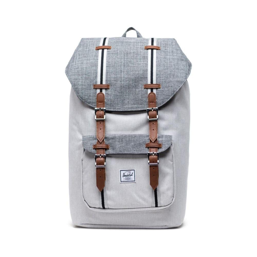 Svetlosivý batoh Herschel Little America, 25 l