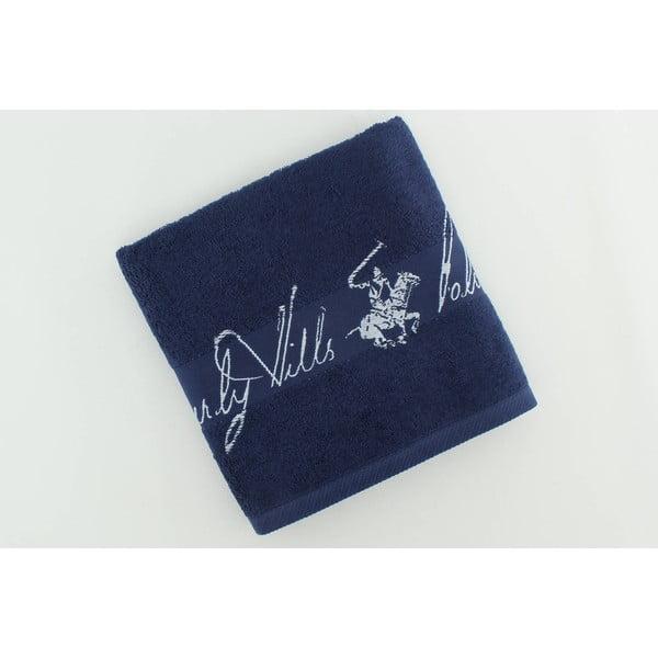 Bavlnený uterák BHPC 50x100 cm, námornícka modrá
