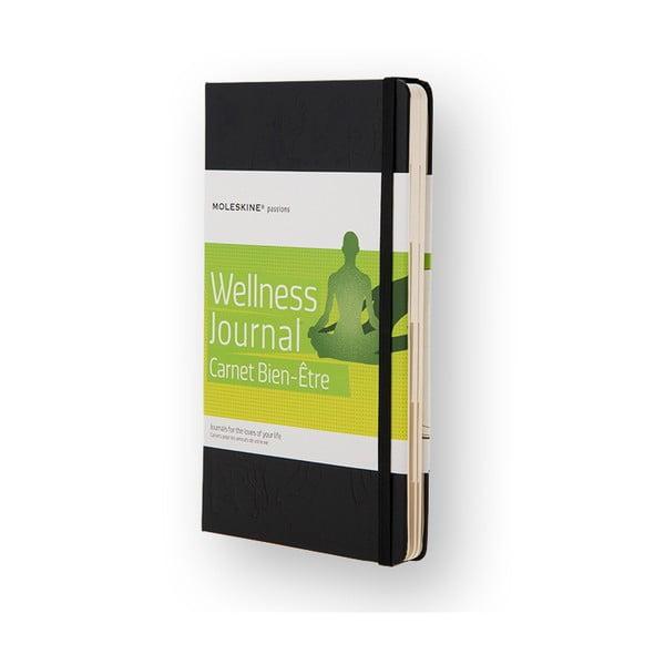 Zápisník Moleskine pre milovníky wellness Passion Art