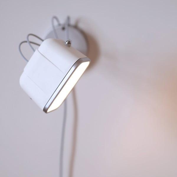 Nástenná lampa Mob, biela