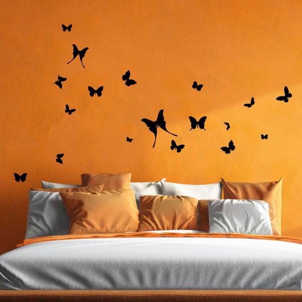 Samolepka 18 Butterflies