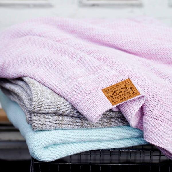 Ružová deka Hawke&Thorn Parker