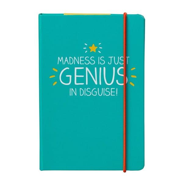 Zápisník A6 Happy Jackson Genius