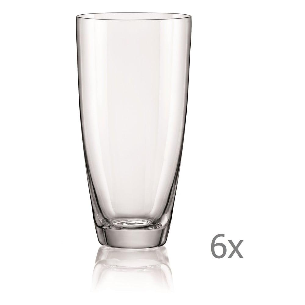 Súprava 6 pohárov Crystalex Kate, 350 ml