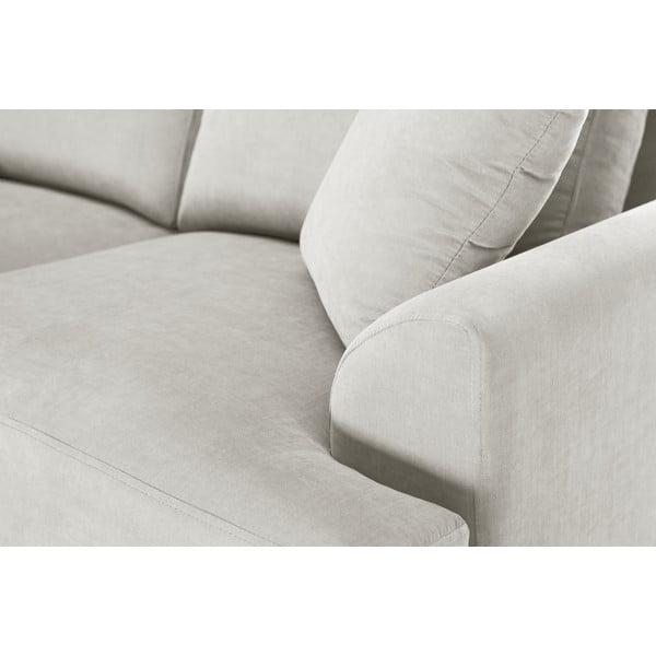 Trojdielna sedacia súprava Jalouse Maison Irina, krémová