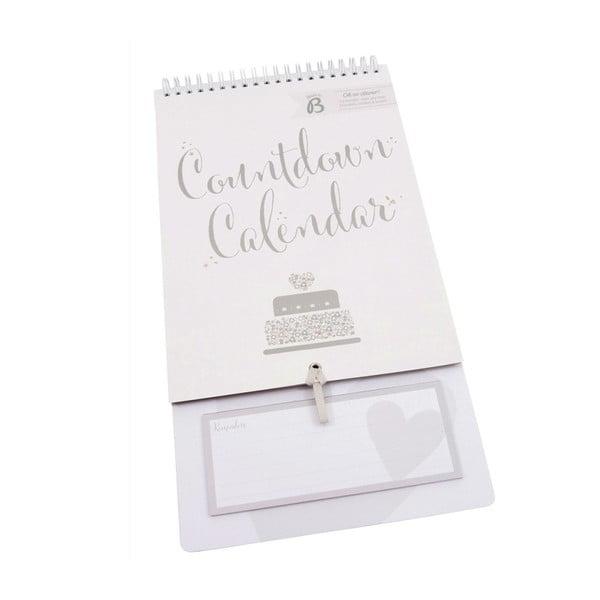 Kalendár Busy B Wedding Countdown