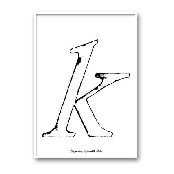 Autorský plagát Karlek, A4