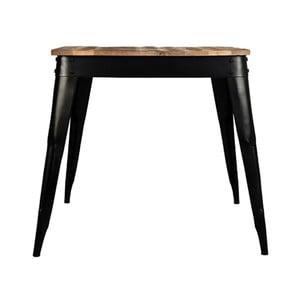 Jedálenský stôl s doskou z mangového dreva LABEL51 Luik, 75×75 cm