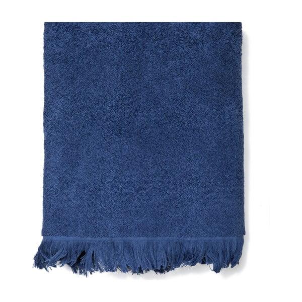 Sada 2 modrých bavlnených osušiek CasaDiBassi Bath, 70×140cm
