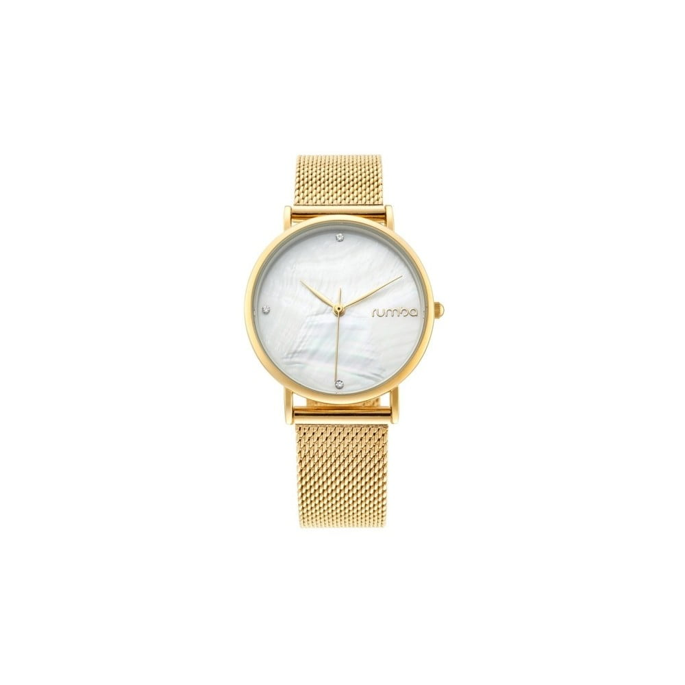 Dámske hodinky v zlatej farbe Rumbatime Lafayette  6a5b9397531