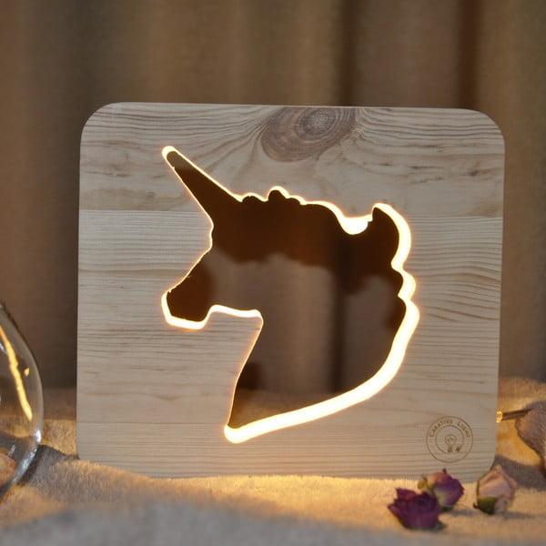Detská lampička Creative Gifts Jednorožec