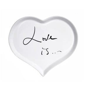 Porcelánový tanier We Love Home Love is