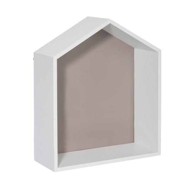 Nástenná polička House Greige, 30x36 cm