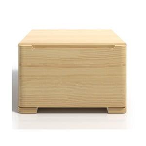 Nočný stolík z borovicového dreva so zásuvkou SKANDICA Sparta
