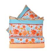 Oranžové obliečky s plachtou Love Colors Novel, 200 x 220 cm