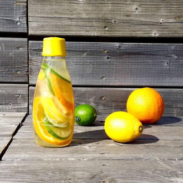 Mliečnobiela sklenená fľaša ReTap s doživotnou zárukou, 800ml