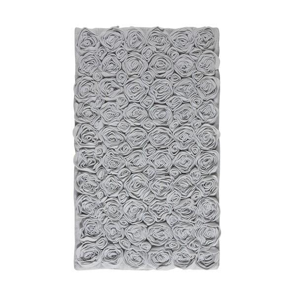 Kúpeľňová predložka Rose 70x120 cm, šedá