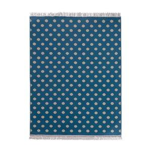 Koberec Fringe - modrý, 140x200 cm