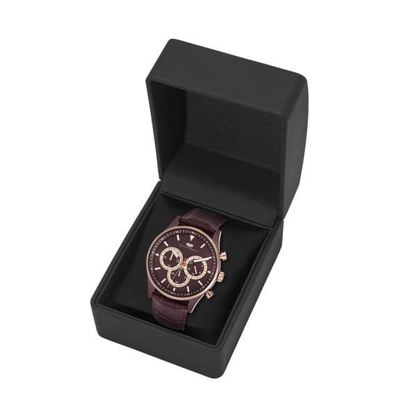 Pánske hodinky Rhodenwald&Söhne Nightwalker Brown/Gold