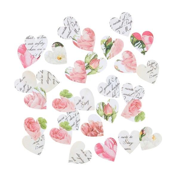 Sada 100 papierových konfiet Talking Tables Blossom