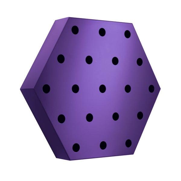Stojan na víno Hexagon Maxi, fialový