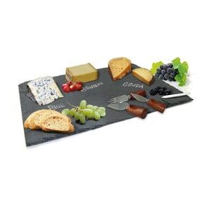 Set bridlicovej doštičky a  napichovátok na syry Vin Bouquet Cheese