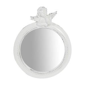 Biele nástenné zrkadlo Biscottini Ressi