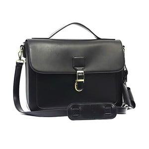 Elegantný taška přes rameno Bobby Black - Black